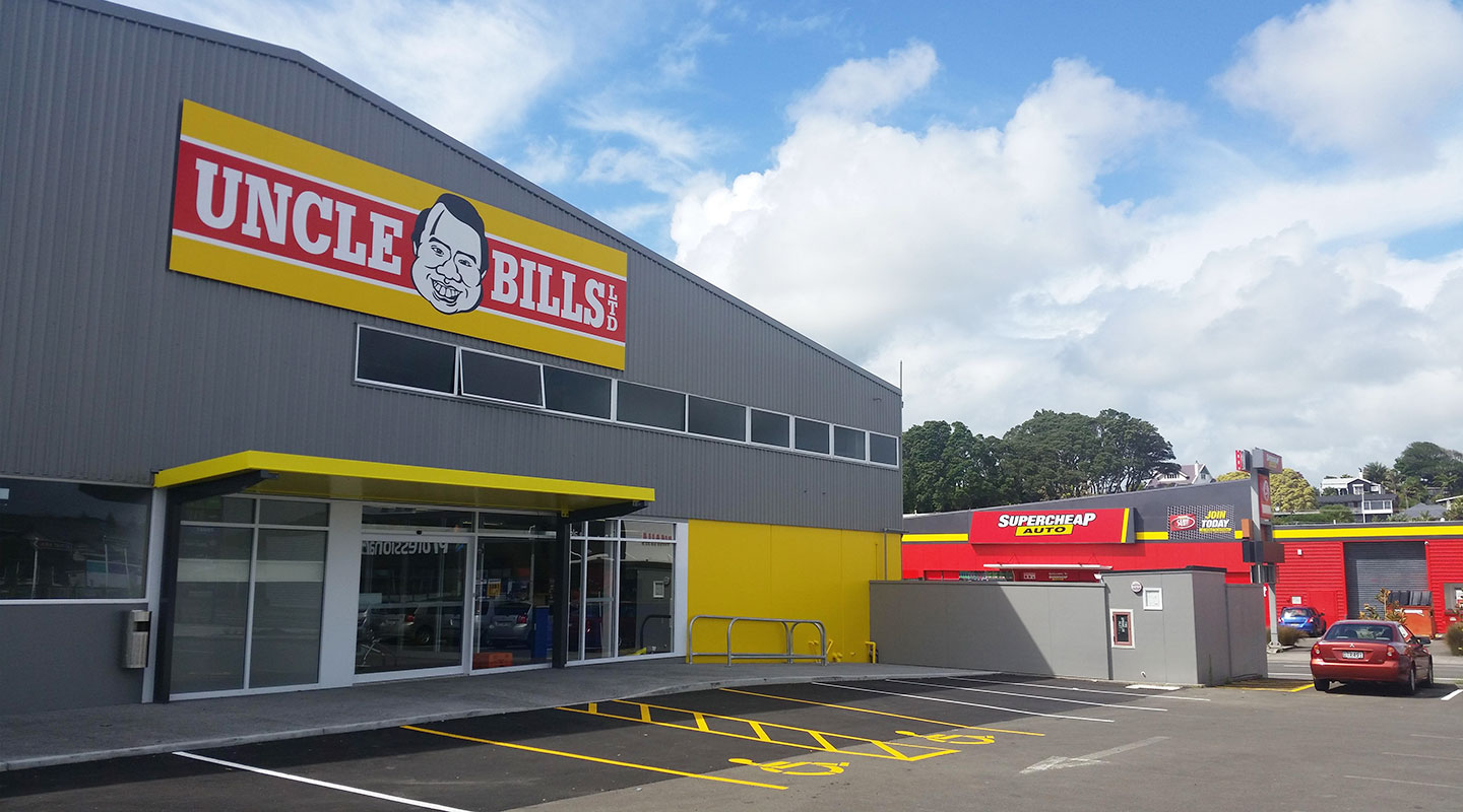New Plymouth Store